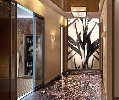 Как декорировать интерьеры холлов, коридоров, прихожих