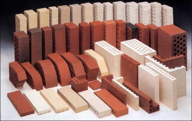 Выбор кирпича для строительства и облицовки