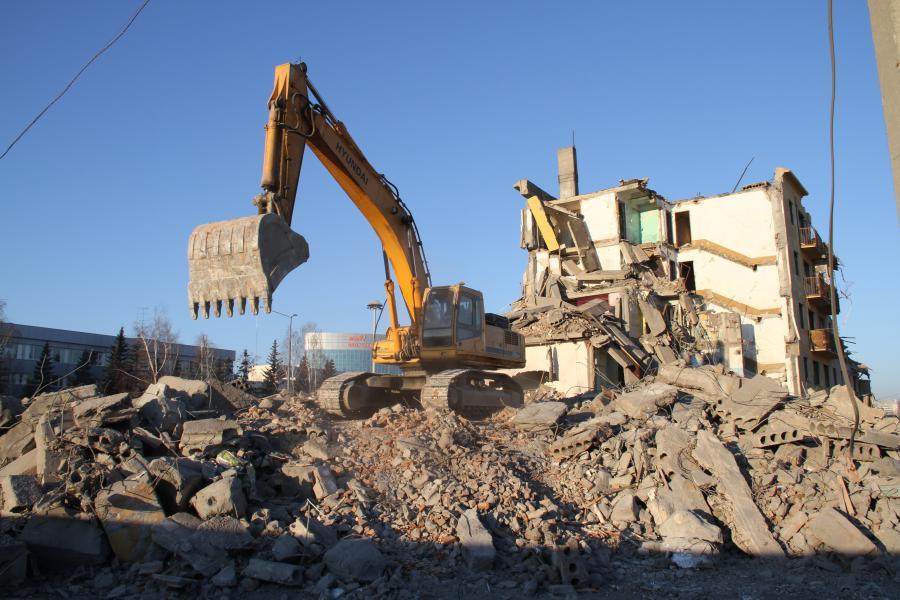 Что собой представляет демонтаж здания