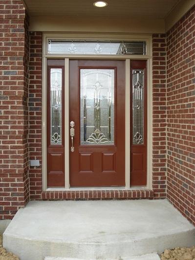 Как можно красиво оформить входные двери