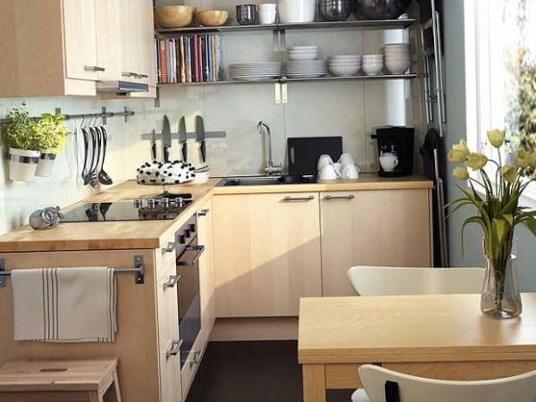 Как оборудовать в квартире кухню
