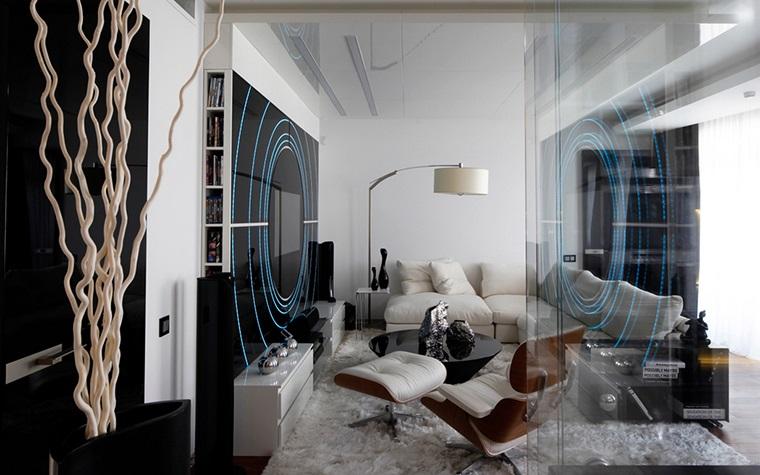 Как стекло вписывается в интерьер квартиры