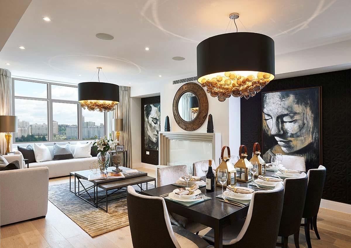 Как сделать богатый интерьер в квартире