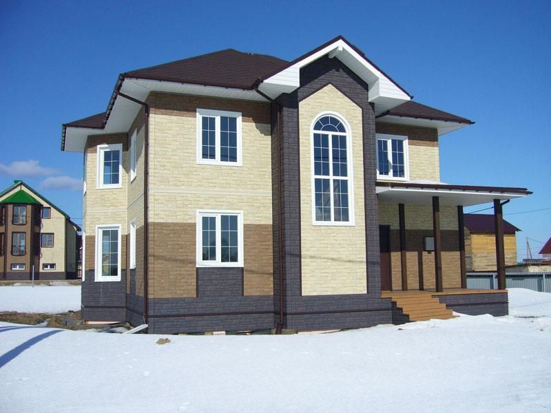 Преимущества фасадных панелей для дома